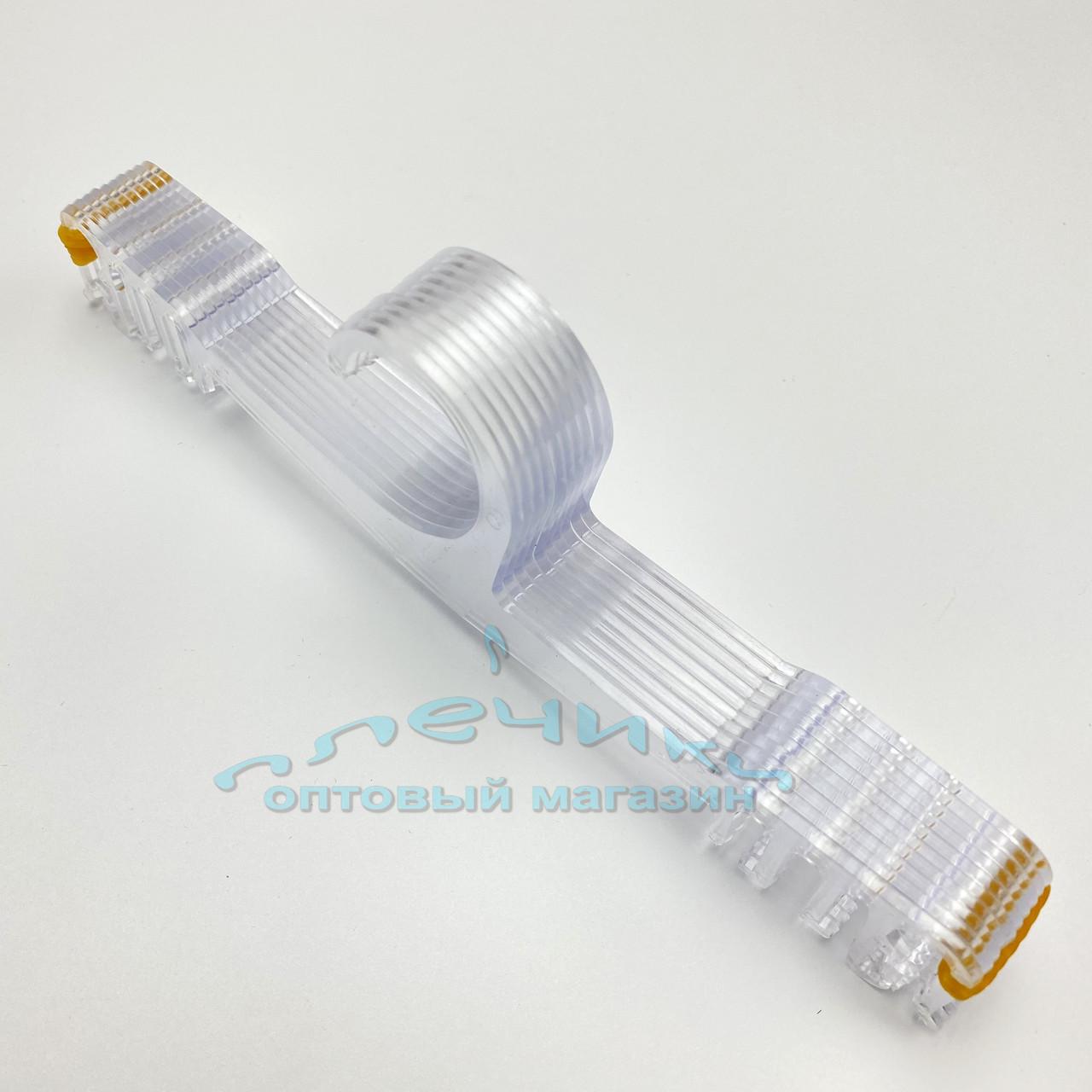 Пластмассовые вешалки 10 шт. плечики для нижнего белья прозрачного цвета, длина 215 мм