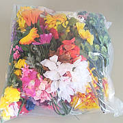 4200 (2 кг) Букети на вагу ( штучні квіти )