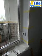 Пластикові укоси на балконний блок, фото 3