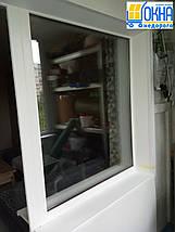 Пластиковые откосы на балконный блок, фото 2