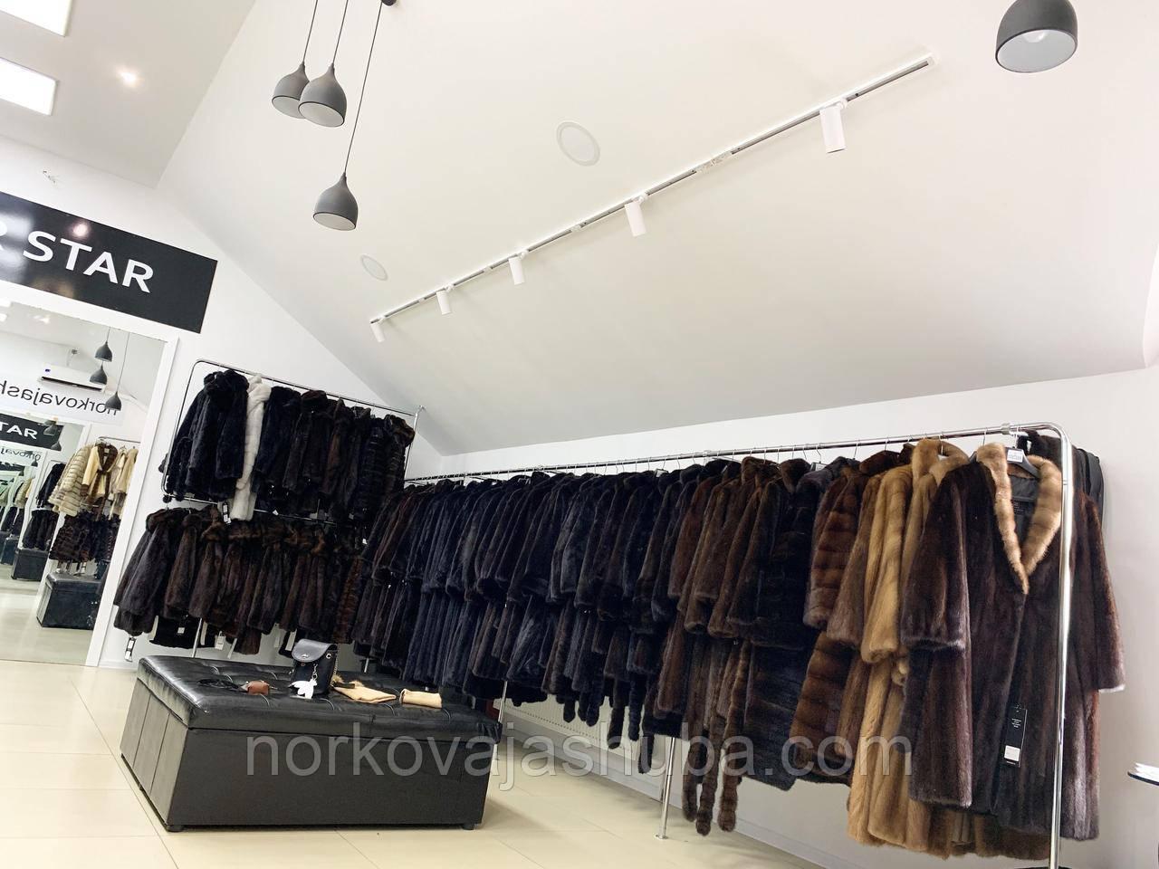 Норкова шуба нова колекція 42 44 S XS