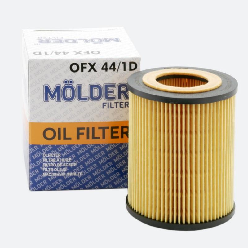 Масляный фильтр MOLDER аналог WL7220/OX154/1DE/HU9254X (OFX44/1D)