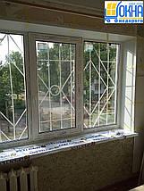 Пластиковые откосы на трехстворчатые окна, фото 3
