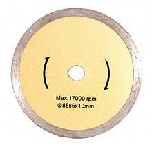 Диск алмазный для плитки MASTERTOOL ДП 85x10