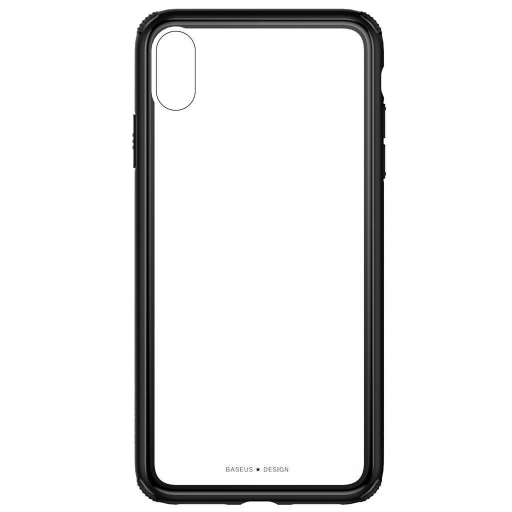 Apple iPhone XS Max Чохол-накладка Baseus See-through Black