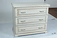 Комод Микс мебель Элит (белая патина) ШхГхВ - 950х485х800 мм