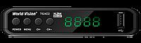 World Vision T624D2 - Т2 Тюнер DVB-T2  с поддержкой кабельного формата DVB-C