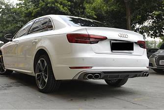Диффузор Audi A4 B9 тюнинг обвес стиль S5