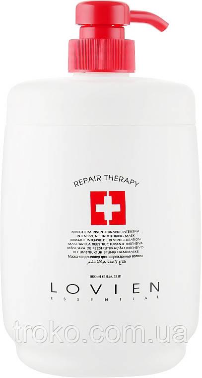 Маска для сухих и поврежденных волос Lovien Essential Mask Intensive Repair 1000 мл
