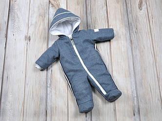 Детский зимний кашемировый комбинезон MagBaby для новорожденных 62, 68