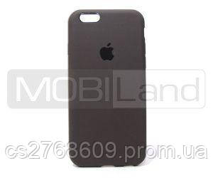 "Чехол силікон ""Silicone Case Original"" iPhone 6 темно сірий"