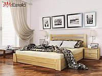 Кровать двухместная из дерева Селена 120х190 102 Щит 2Л4