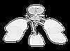 Светильник Viletta zyrandol 5XE27 60W chrom