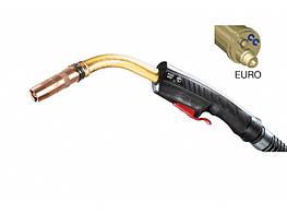 Сварочная Горелка PLUS 600 WIRE CONDUIT+GAS 4M EURO с водяным охлаждением Trafimet
