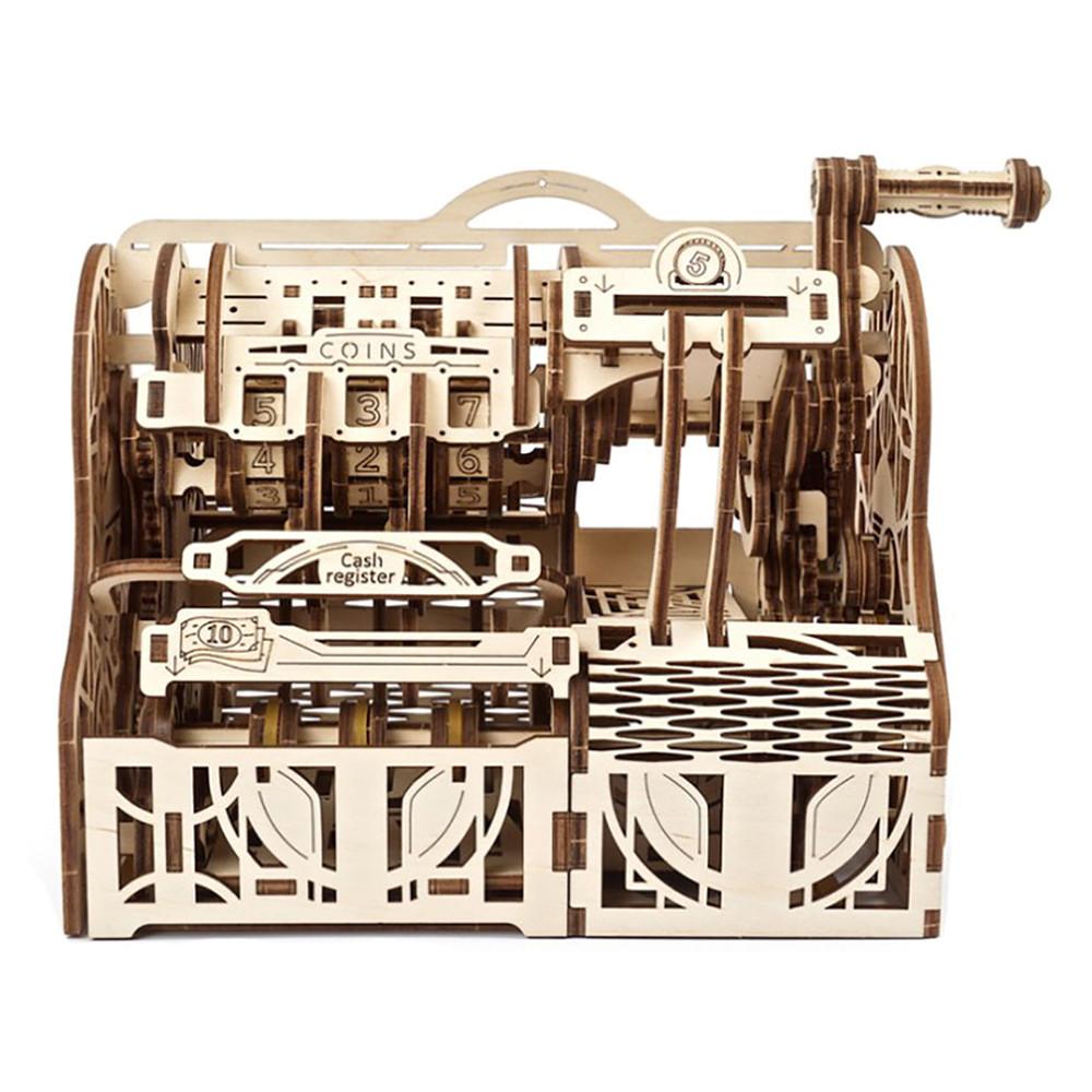 """Механічний 3D пазл """"Касовий апарат"""", 405 елементів UGEARS (4820184121119)"""