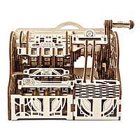 """Механічний 3D пазл """"Касовий апарат"""", 405 елементів UGEARS (4820184121119), фото 1"""