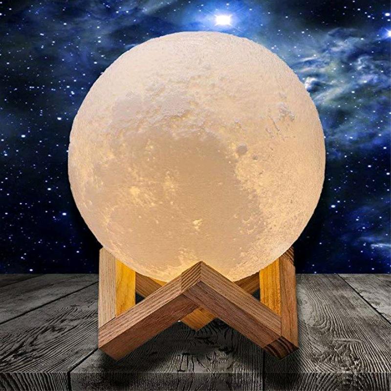 3D ночник луна moon lamp 13 см