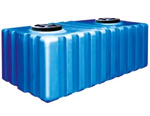 Емкость бак пластмассовая 1650 литров квадратная