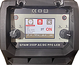 Спика GTAW TIG-250 AC DC PFC LCD аргоновая сварка, фото 3