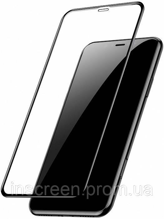 3D Захисне скло для Samsung G610F Galaxy J7 Prime 0.3 мм, 2.5 D чорне, фото 2