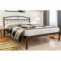 Кровать металлическая полуторная, двуспальная Инга (Inga) ТМ Метакам без изножья