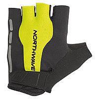 Велоперчатки NorthWave Flash Short gloves черный / желтый c8917208919