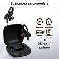 Спортивные TWS наушники Promate Motive Bluetooth 5 Black, фото 4