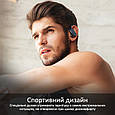 Спортивные TWS наушники Promate Motive Bluetooth 5 Black, фото 5
