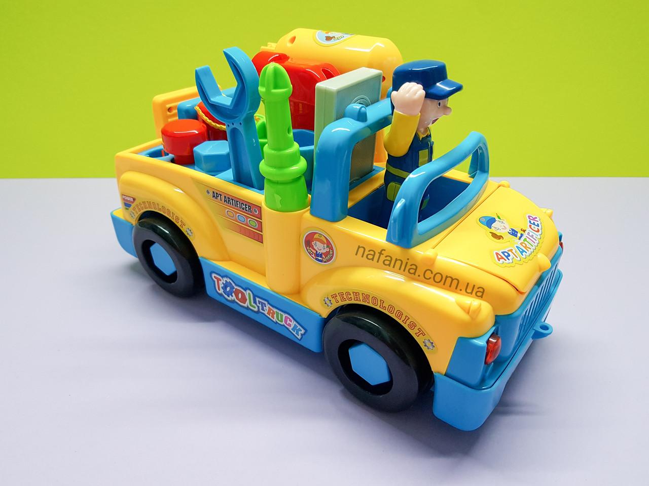 Игровой набор Машина Моя мастерская с строителем и инструментами