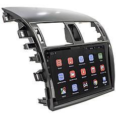 Штатная автомобильная магнитола для Toyota Corolla 9 (2009-2013) GPS 4G Wi Fi Android 6, фото 3