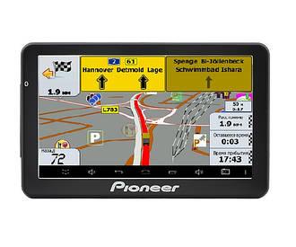 Автомобильный GPS-навигатор Pioneer Pi-718 Truck с картой Европы и Украины (pi_l718tr)