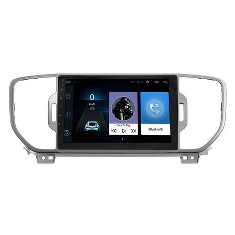 """Штатная автомобильная 10"""" магнитола Kia KX5 (2019 г.в.) 1/16 GPS Android 6 (4779-14734), фото 2"""