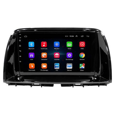 """Штатная автомобильная 9"""" магнитола Mazda CX-5 (2015 г.в.) 1/16 Гб GPS Android 6 (4784-14716), фото 2"""