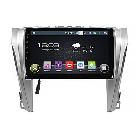 """Штатная автомобильная 10"""" магнитола Toyota Camry V55 (2015-2017гг.) память 1/16 GPS Android (5525-16734), фото 2"""