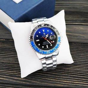Мужские часы Rolex Submariner 6478 Silver-Black-Red-Black