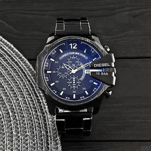 Мужские часы Diesel 10 Bar 8712 All Black