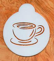 """Кофе-трафарет """"Чашка кофе"""", фото 1"""