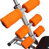 Тренажер домашний Six Pack Care для укрепления мышц пресса, спины и ног, фото 2