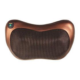 Масажна подушка з інфрачервоним підігрівом для шиї і спини від прикурювача і мережі