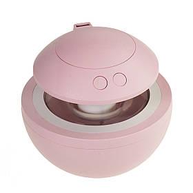 Міні зволожувач повітря з підсвічуванням 2 в 1 (лампа нічник + зволожувач) USB