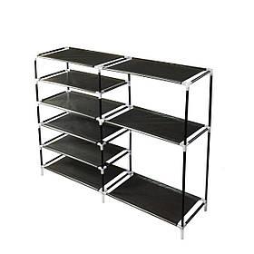 Стеллаж этажерка для обуви в прихожую, открытый шкаф органайзер для хранения обуви
