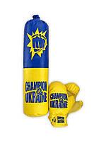 Боксерский набор средний Champion Of Ukraine Danko Toys M-UA