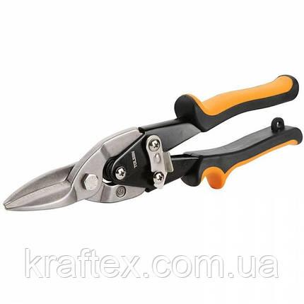 Ножиці по металу AVIATION прямий різ ПРОФІ 250 мм, фото 2