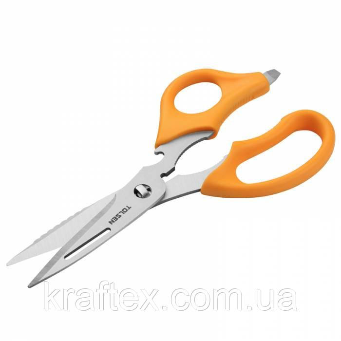 Ножиці мультифункціональні ПРОФІ 220 мм