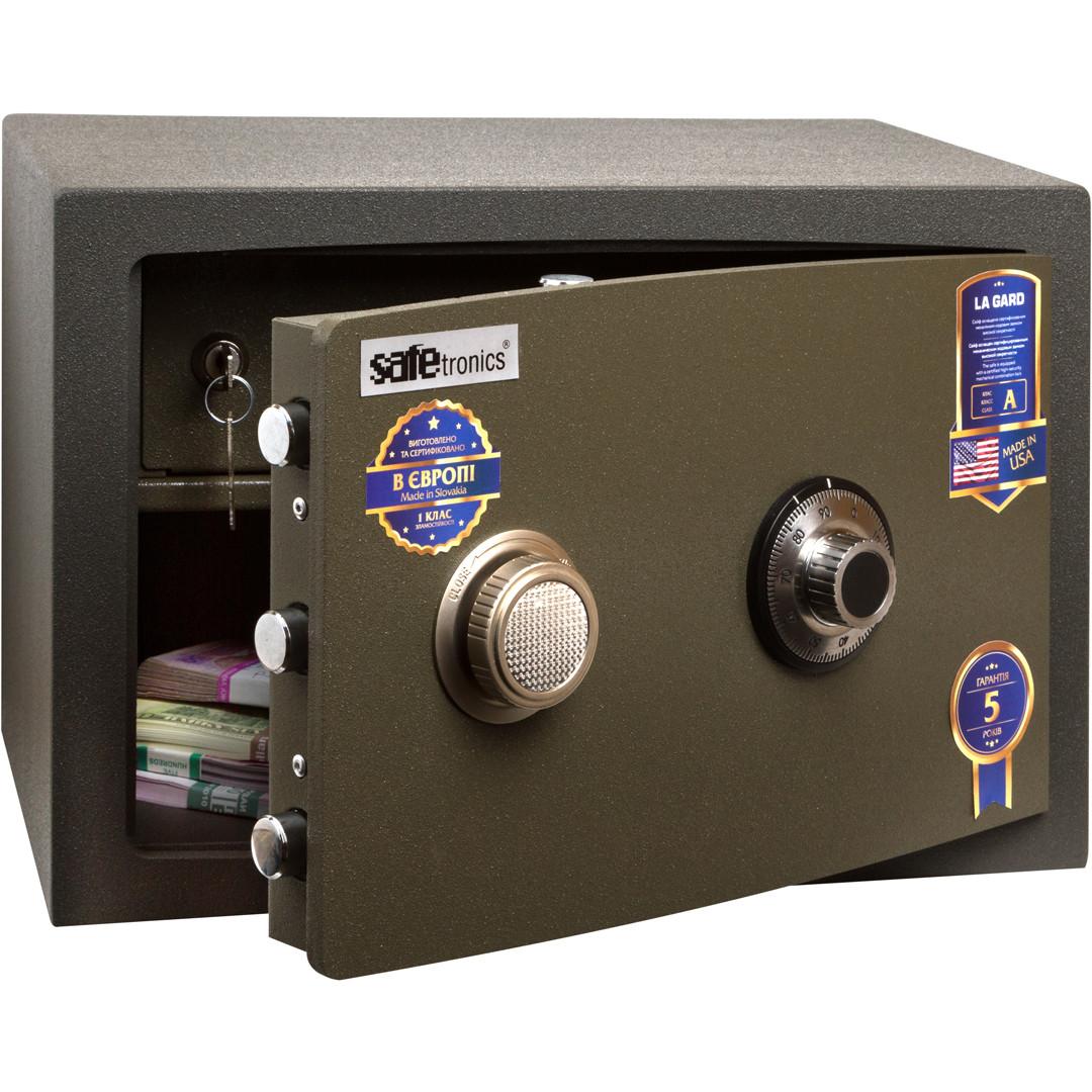 Зломостійкий сейф Safetronics NTR 24LGs