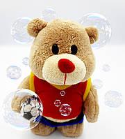 Игрушка детская Миша-футболист заводной, на батарейках, Миша спортсмен, фото 1