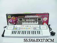 Синтезатор MQ3709 37 клавіш мікрофон,від мережі кор.54*5,5*17 /36/