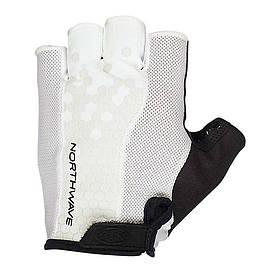 Велоперчатки Northwave Grip Short черный / белый c8916207250