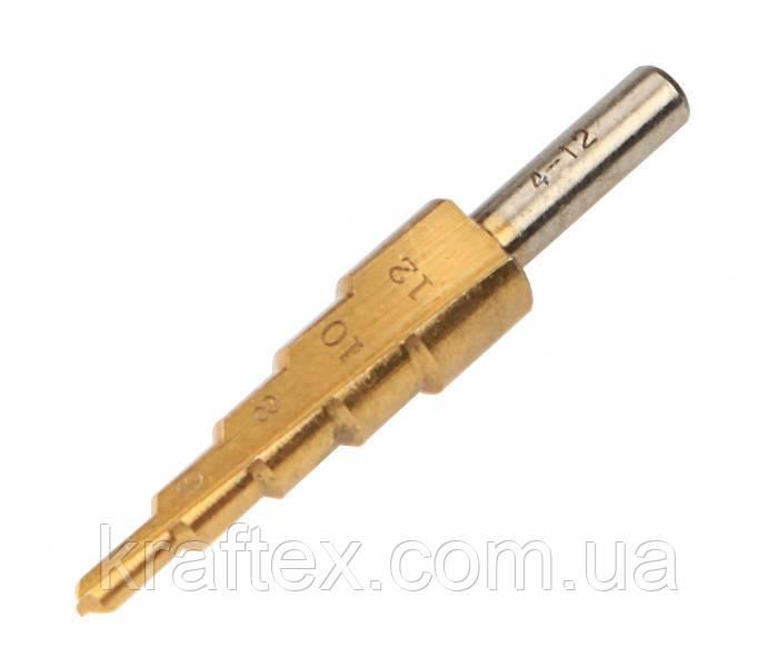 Свердло по металу ступінчате 12 мм
