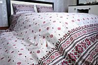 Набор постельного белья Полуторный(150х205) Вышиванка Бязь от производителя Brettani